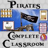 Complete Pirate Themed Classroom Bundle
