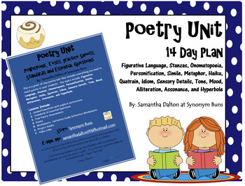 Complete Poetry Unit - 14 Day Plan