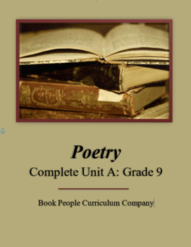 Poetry Complete Unit A (Grade 9)