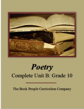 Poetry Complete Unit B (Grade 10)