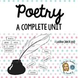 Complete Poetry Unit Grades 4-8