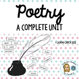 Complete Poetry Unit for Upper Elementary