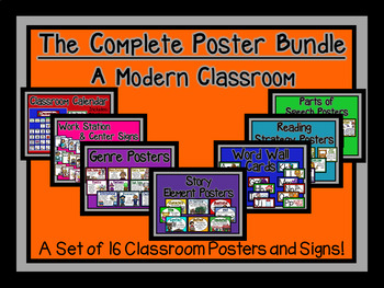Complete Poster Bundle-The Modern Classroom