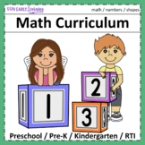 Complete Pre-K Math Program with Guided Lessons - Numbers & Shapes