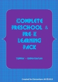 Complete Pre-K to Kindergarten Learning Set (Common Core aligned)