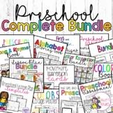 Complete Preschool BUNDLE