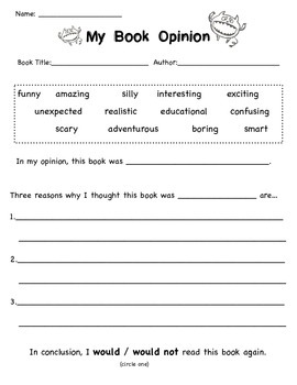 Complete Primary Common Core Opinion Writing Unit
