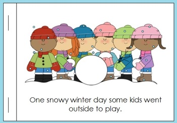 Complete Primary Winter Literacy Center Set- 7 Language Arts Lessons