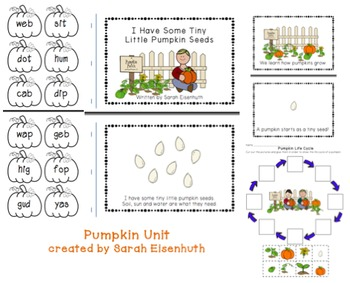 Complete Pumpkin Unit Bundle- Primary