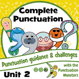 Complete Punctuation Unit 2: Exclamations, Commas, Apostrophes, Question Marks