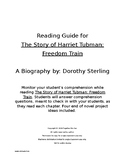 Complete Reading Guide for The Story of Harriet Tubman: Fr