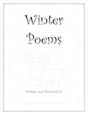 Complete Reading and Writing Christmas Poetry Poem Book Holiday Winter Unit
