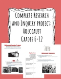 Complete Research and Inquiry Project:  Holocaust