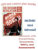 Complete Russian Revolution Unit and Lesson Plan Bundle