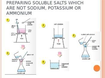 Complete Salts Lesson Slides (39 Slides)