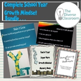 Complete School Year Growth Mindset Bundle