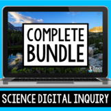 Complete Science Digital Inquiry Bundle | Distance Learnin