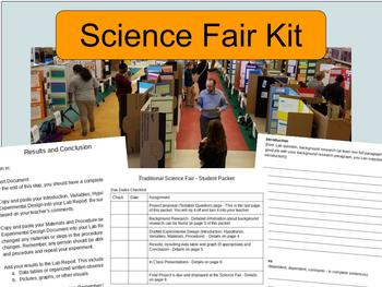Complete Science Fair Kit