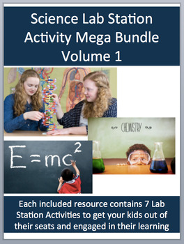 Science Lab Station Activity Mega Bundle - Volume I - Includes 30 Resources