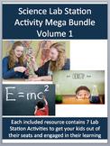 Science Lab Station Activity Mega Bundle - Volume I - Incl