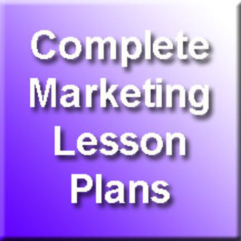 Complete Semester Marketing Plans - Eight Units worth of Material