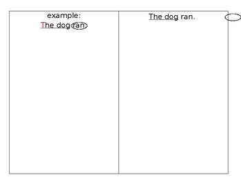 Complete Sentence Checklist