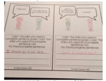 Complete Sentence Comics