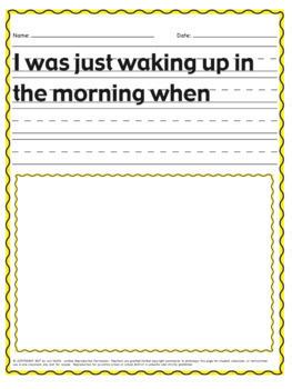 Complete Sentence Starter Bundle