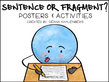 Complete Sentence or Fragment? by Primary Punch | Teachers Pay ...