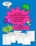 Complete Sentences: 2nd-3rd Grade Common Core Differentiated Practice Worksheets