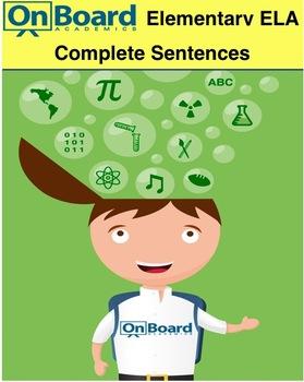 Complete Sentences-Interactive Lesson