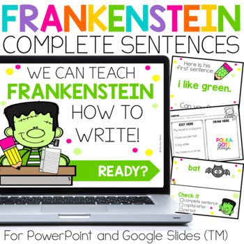 Complete Sentences Mini-Lesson and Activities