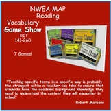 NWEA MAP and Common Core Prep Vocabulay Game Show (ALL RIT BANDS 141-260)
