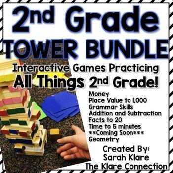 Complete Set- Tower Bundle! {2nd grade Skills}