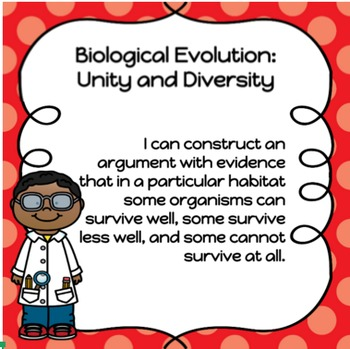Complete Set of 15 NGSS I Can Posters - Third Grade