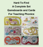 Complete Set of Game Boards and Cards for Teaching Phonics
