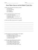"""Complete Set of Grade 1 Unit 6 CKLA Reader """"Grace"""" Quick Quizzes"""