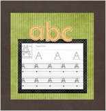 Complete Set of Handwriting Letter Practice