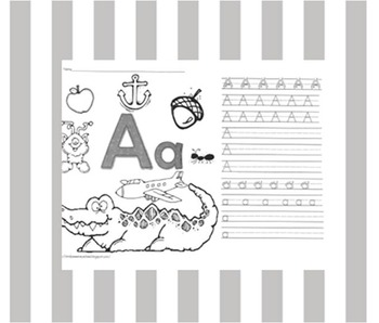 Complete Set of Handwriting Mini Poster Sheets