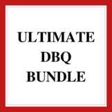 Complete Bundle of History Document Based Questions (DBQ)