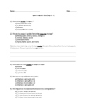 Complete Set of Lyddie Chapter Quizzes