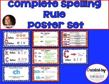 Complete Set of Phonics Spelling Rule Posters