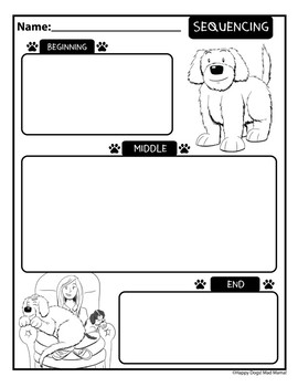 Complete Set of Reading Activities from Happy Dogs! Mad Mama!