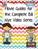 Complete Set Bundle of Video Worksheets (Movie Guides) for Bill Nye Videos
