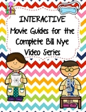 Complete Set INTERACTIVE Video  WS (Movie Guides) for Bill Nye Videos - QR code