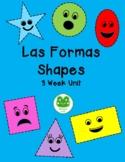 Complete Shape Unit English & Spanish PreK-1st Grade