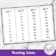 Sight Words Pack- Flash Cards, Activity Sheets, Checklists