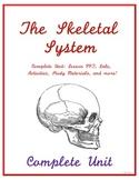 Complete Skeletal System Unit - Middle School Science