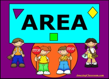 Complete Smart Notebook Lesson - All About Area