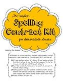 Complete Spelling Contract Activities Kit